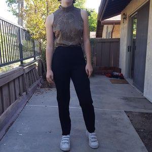 Pants - High Waisted Vintage Black slacks!